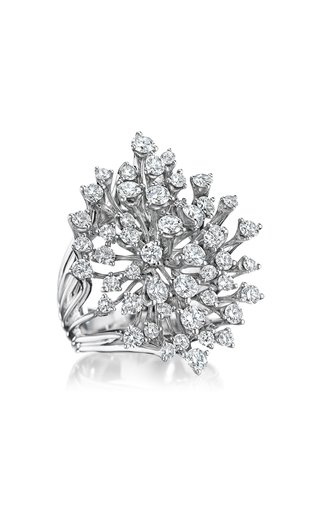 Luminus 18K White Gold Diamond Ring