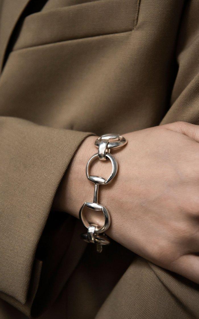 Sterling Silver Horsebite Bracelet