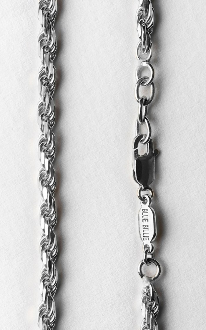 Sterling Silver Thick Rope Bracelet
