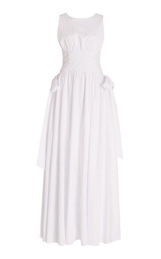 Hadasa Cotton Maxi Corset Dress