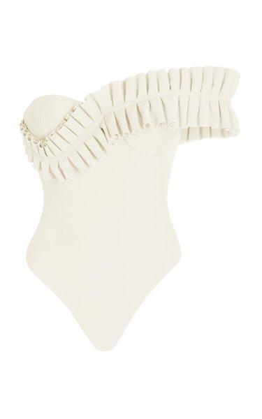 Nisi Ruffled One-Piece Swimsuit