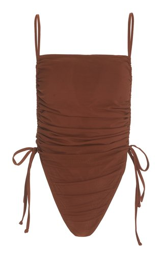 Adan Ruched One-Piece Swimsuit