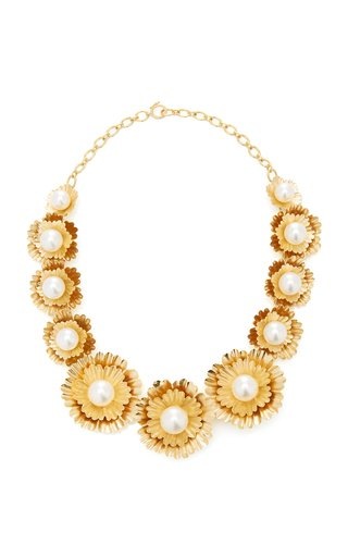 Super Bloom Necklace With South Sea Pearls