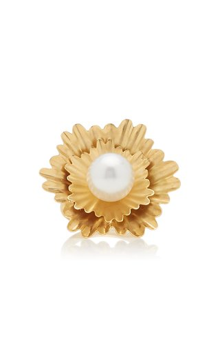 Super Bloom Ring With South Sea Pearl