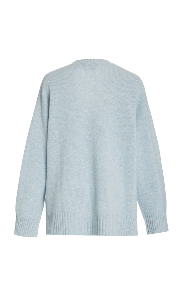 Recycled Wool-Blend Sweater