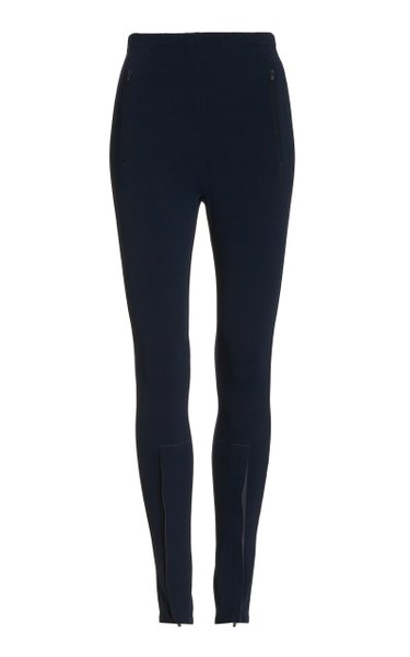 Front-Zip Leggings