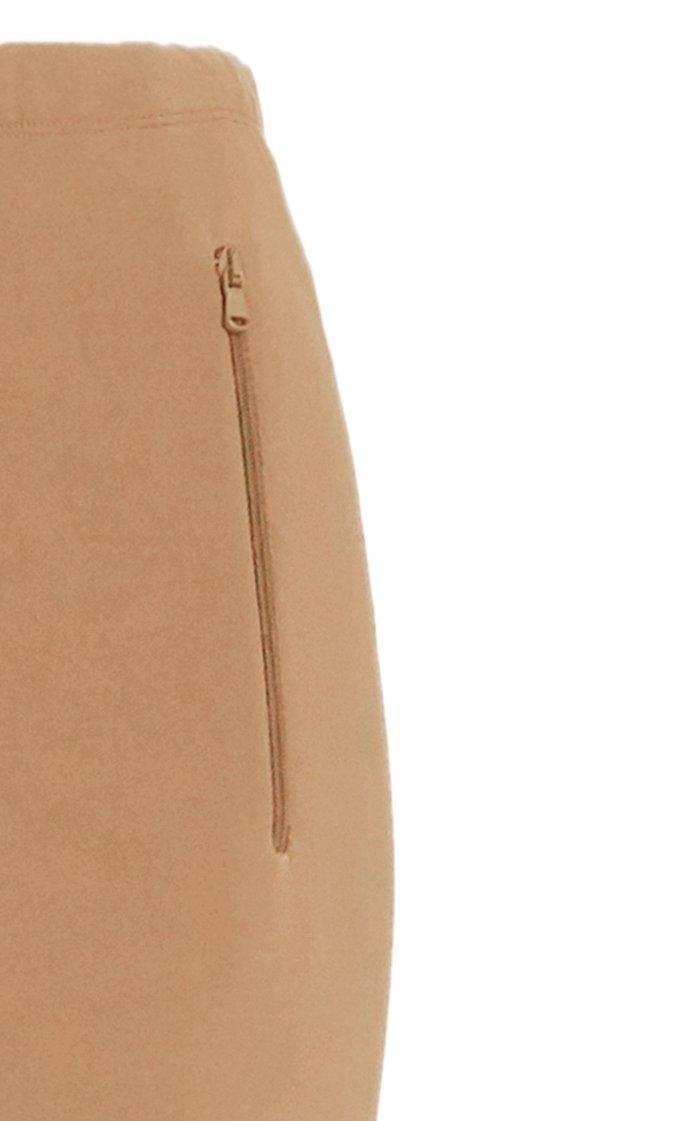 Front-Zip Leggings