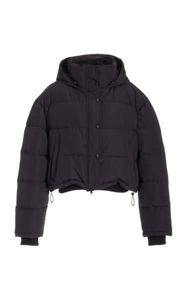 Matte Cotton-Blend Down Puffer Jacket
