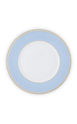 Light Blue & 24K Gold Charger