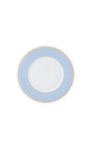Light Blue & 24K Gold  Starter/Salad Plate