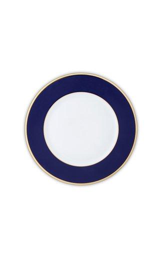 Cobalt Blue & 24K Gold Large Dinner Plate