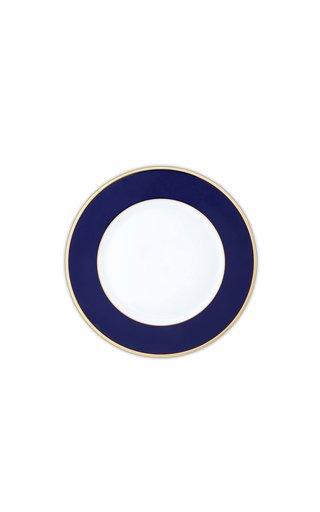 Cobalt Blue & 24K Gold  Starter/Salad Plate