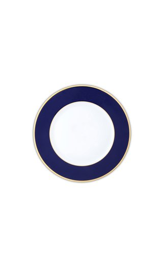Cobalt Blue & 24K Gold  Dessert Plate