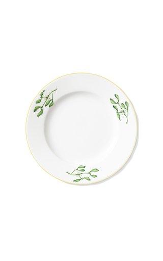 Large Dinner Plate Misteltoe