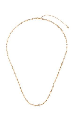 Stardust 18K Rose Gold Diamond Necklace