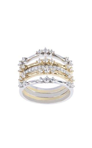18K Gold Sol & Luna 5 Ring