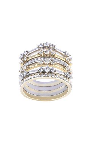 18K Gold Sol & Luna 6 Ring