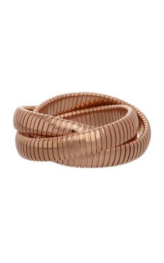 18K Rose Gold Rolling Bracelet