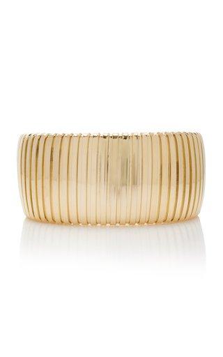 18K Yellow Gold Golden Cuff