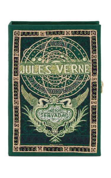 Jules Verne's Voyages Customizable Book Clutch