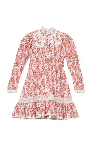 Button-Down Linen-Blend Mini Dress