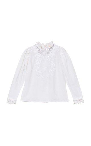 Crochet Line-Blend Top
