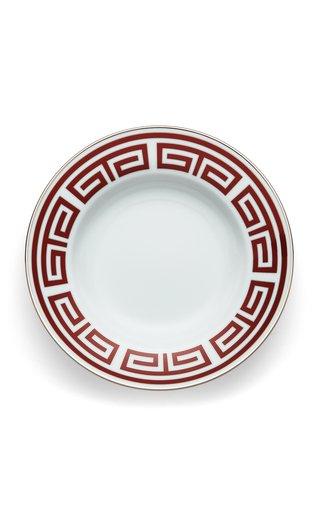 Labirto  Scarlatto, Flat Dessert Plate 22Cm