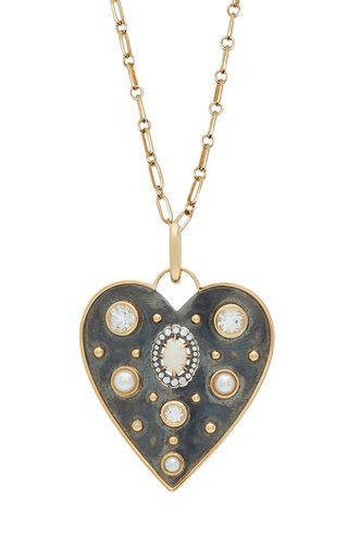 Elie Top Large La Dame Du Lac Heart Charm