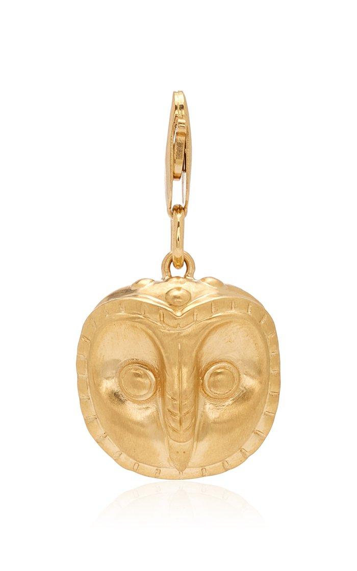 FUTURA Peruvian Moche Owl Charm