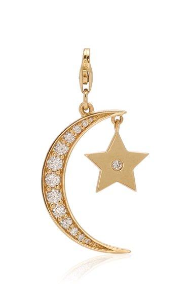Nancy Newberg Star & Moon Charm