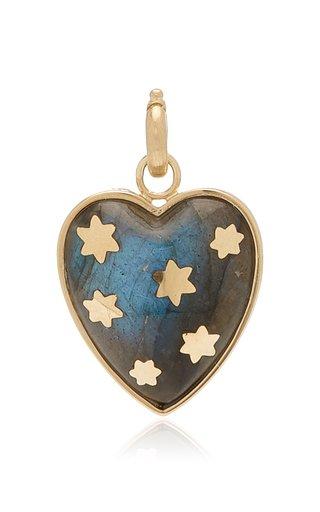 "Storrow ""Anna"" Labradorite Heart Charm"