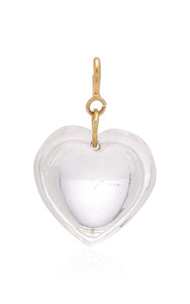 Ten Thousand Things Cut Crystal Heart Charm
