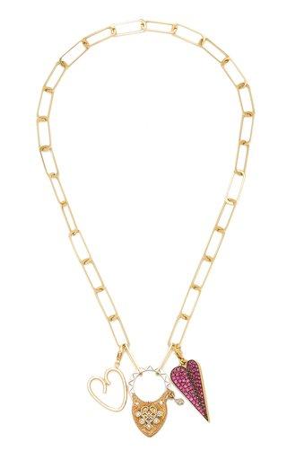 Cynthia Erivo Heart Charms Necklace