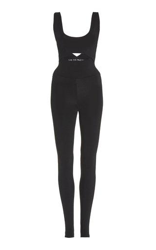 Cutout Jersey Bodysuit