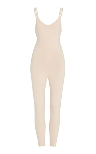 Crescent Stretch-Jersey Bodysuit