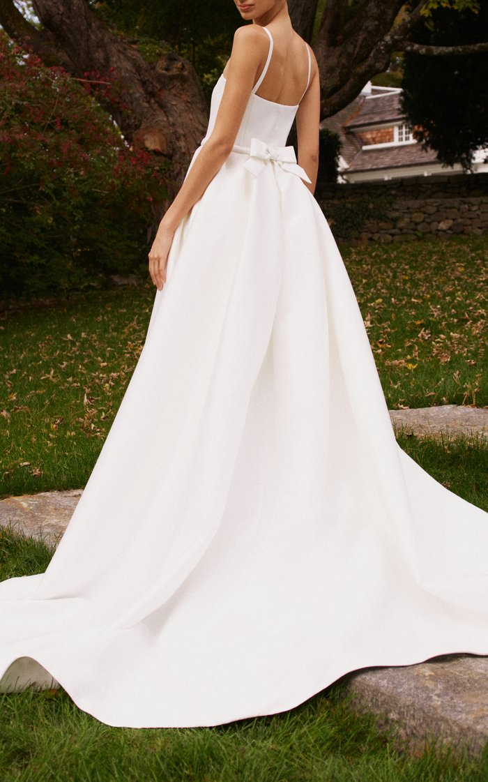Phoebe Gown With Overskirt