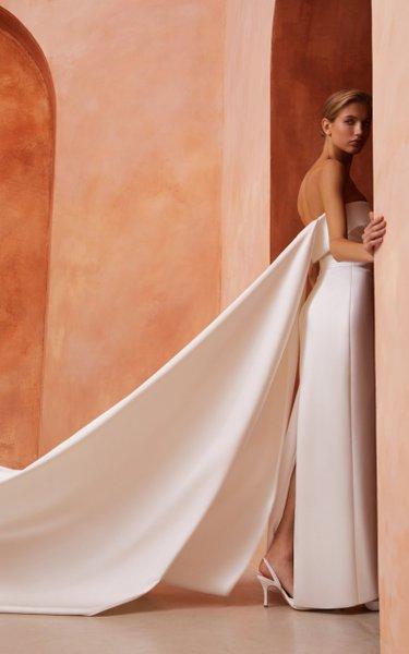 Satin Corset Gown