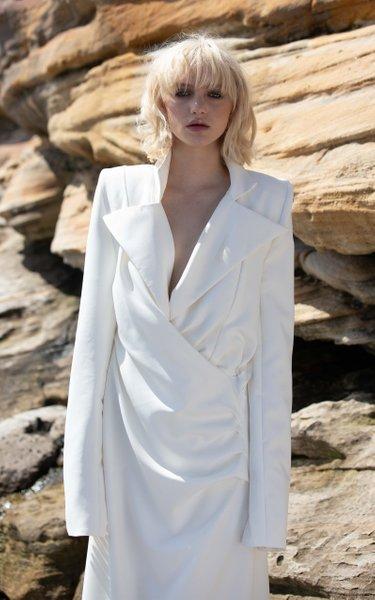 Woolf Blazer Gown