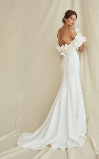 Embossed Floral Classic Gown