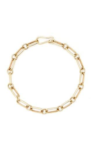 Elena Votsi Handmade Chain Bracelet With Thick Links