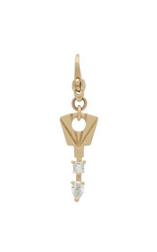 Michelle Fantaci Amaranthus Lock Box Key Charm