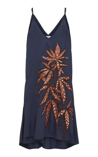 Fantasy Poplin Mini Dress