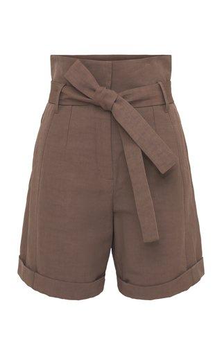 Into The Sun Linen-Cotton Shorts