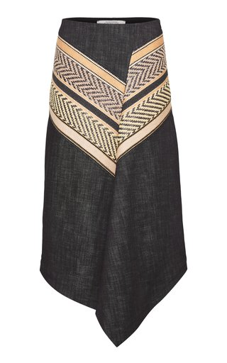 Perfect Match Embroidered Denim Skirt