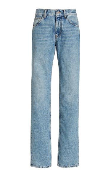 Rigid High-Rise Girlfriend Jeans