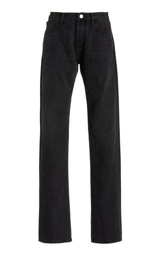 Rigid High-Rise Boyfriend Jeans
