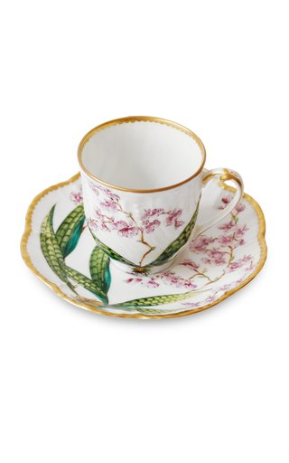 Histoires D'Orchidees, Coffee Cup And Saucer