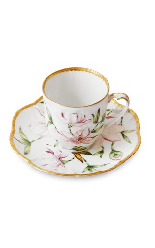 Magnolia, Coffee Cup And Saucer