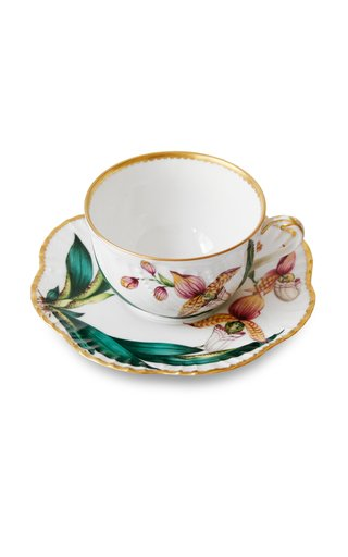 Histoires D'Orchidees, Tea Cup And Saucer