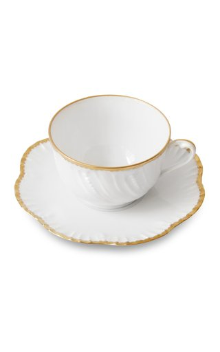 Simple Dentelle, Tea Cup And Saucer